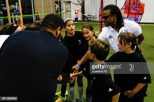 Juventus Legend Edgar Davids Greets Fans At The Juventus Academy Usa News Photo Getty Images