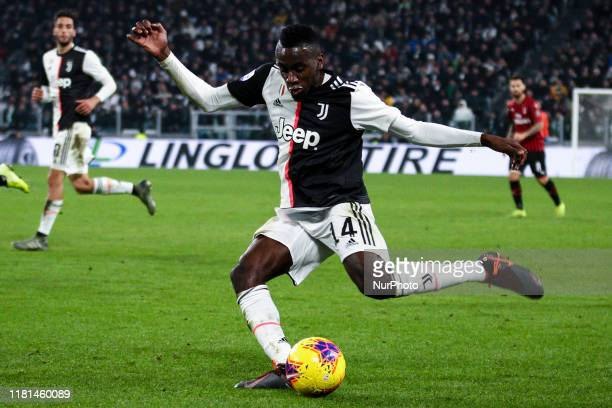 Juventus midfielder Blaise Matuidi in action during the Serie A football match n.12 JUVENTUS - MILAN on November 10, 2019 at the Allianz Stadium in...