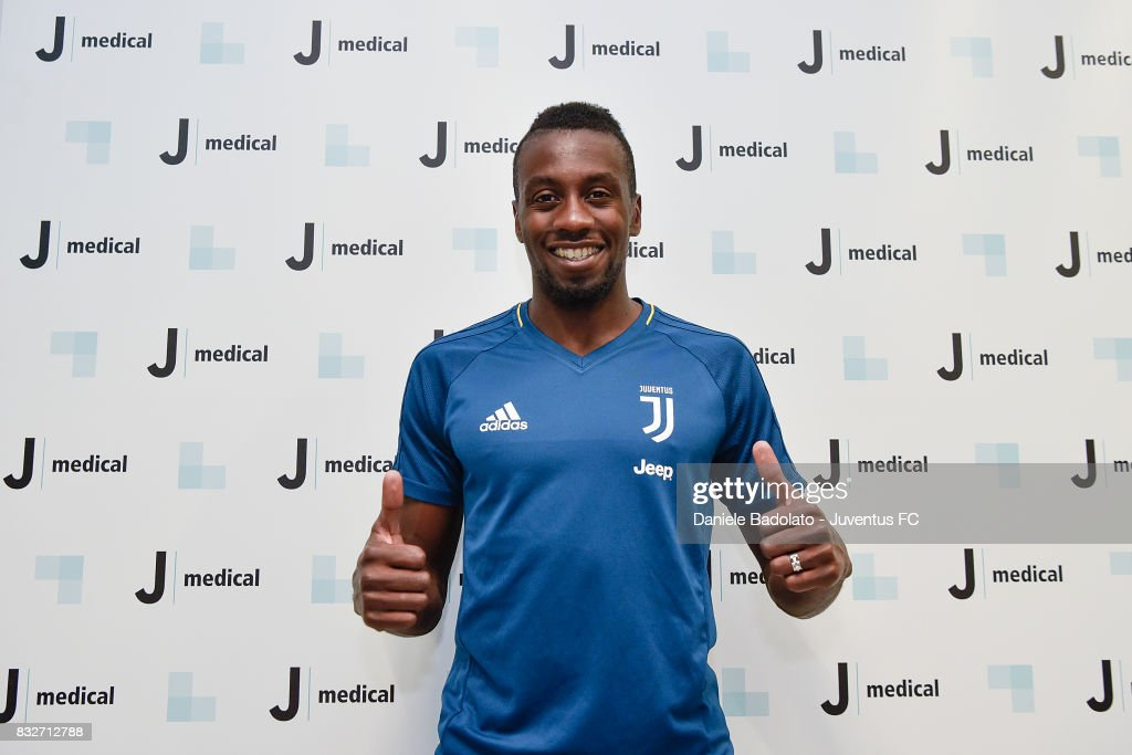Juventus New Signing Blaise Matuidi attends medical tests on August 16, 2017 in Turin, Italy.