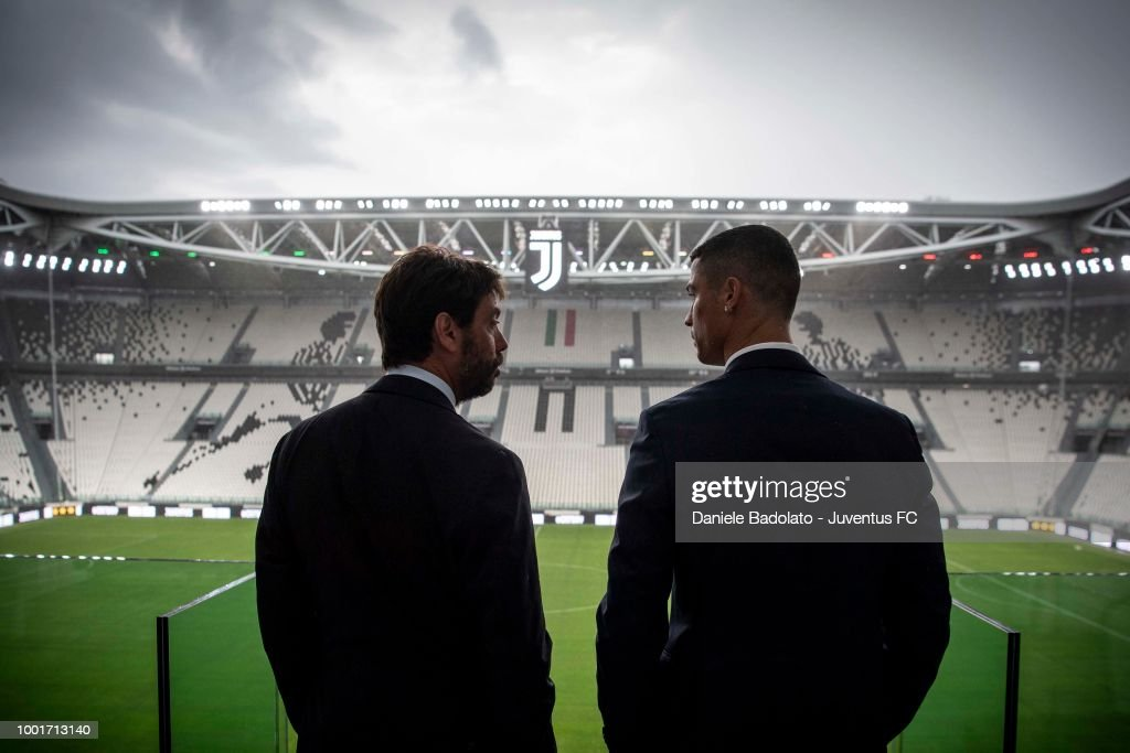 Juventus - Cristiano Ronaldo Day : ニュース写真