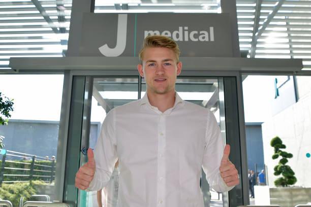 ITA: Juventus Unveils New Signing Matthijs de Ligt