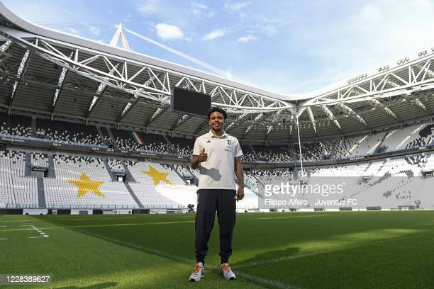 Juventus new signing Weston McKennie is presented to the press at Allianz Stadium on September 07, 2020 in Turin, Italy.