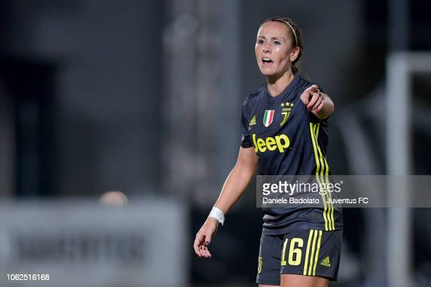 Juventus player Ashley Nick during the match between Juventus Women and ASD Orobica on October 31 2018 in Vinovo Italy