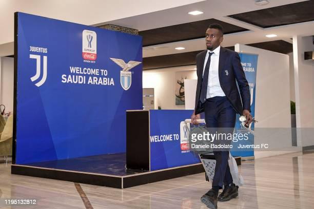 Juventus player Blaise Matuidi arrival in Ryiad on December 20 2019 in Riyadh Saudi Arabia