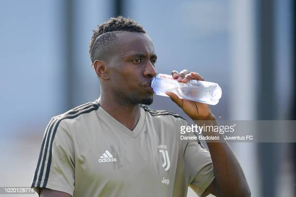 Juventus player Blaise Matuidi during a Juventus training session at JTC on August 20 2018 in Turin Italy