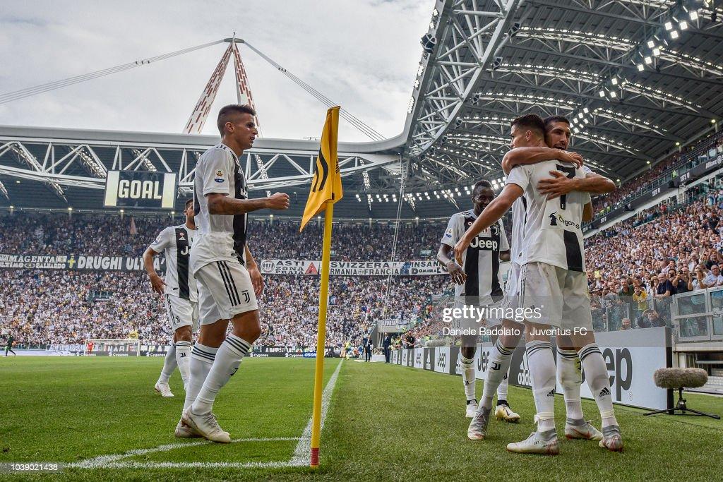 Juventus v US Sassuolo - Serie A : Fotografía de noticias