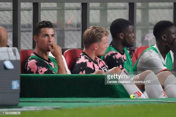 Juventus player Cristiano Ronaldo during the international friendly match between Juventus and K.League All Stars at Seoul World Cup Stadium on July...