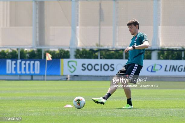 Juventus player Daniele Rugani during a training session at JTC on May 07 2020 in Turin Italy