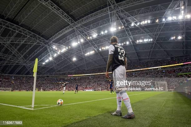 Juventus player Federico Bernardeschi during the International Champions Cup match between Juventus and Tottenham Hotspur at the Singapore National...