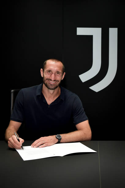 ITA: Giorgio Chiellini Extends His Contract With Juventus