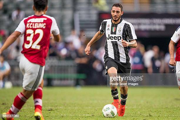 Juventus' player Grigoris Kastanos in action during the South China vs Juventus match of the AET International Challenge Cup on 30 July 2016 at Hong...