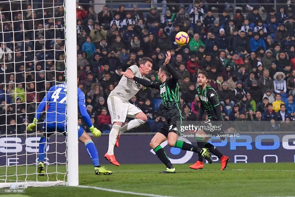 US Sassuolo v Juventus - Serie A : News Photo