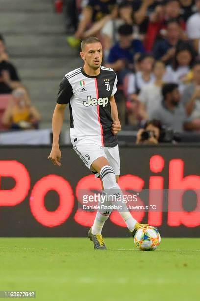 Juventus player Merih Demiral during the International Champions Cup match between Juventus and Tottenham Hotspur at the Singapore National Stadium...