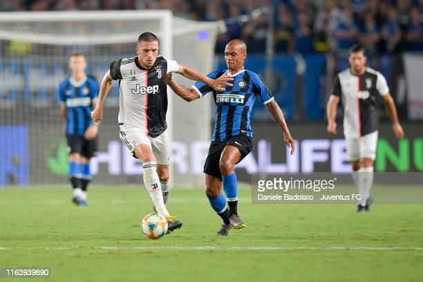 Juventus player Merih Demiral during the International Champions Cup match between Juventus and FC Internazionale at the Nanjing Olympic Center...
