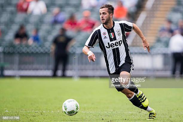 Juventus' player Miralem Pjanic in action during the South China vs Juventus match of the AET International Challenge Cup on 30 July 2016 at Hong...