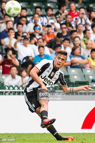 Juventus' player Paulo Dybala in action during the South China vs Juventus match of the AET International Challenge Cup on 30 July 2016 at Hong Kong...