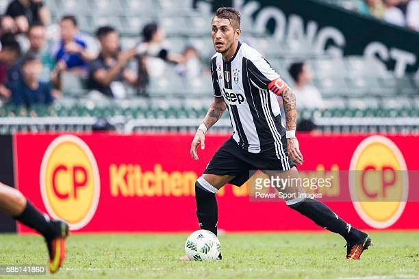 Juventus' player Roberto Pereyra in action during the South China vs Juventus match of the AET International Challenge Cup on 30 July 2016 at Hong...
