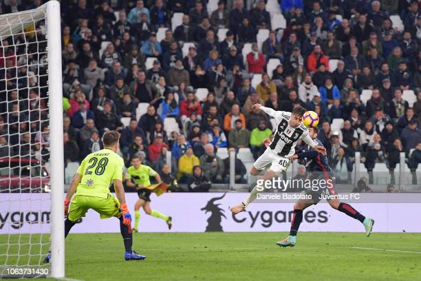 Juventus player Rodrigo Bentancur during the Serie A match between Juventus and Cagliari on November 3 2018 in Turin Italy
