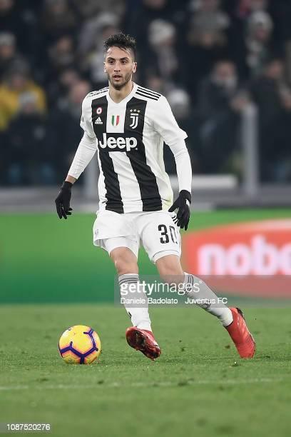 Juventus player Rodrigo Bentancur during the Serie A match between Juventus and AS Roma on December 22 2018 in Turin Italy