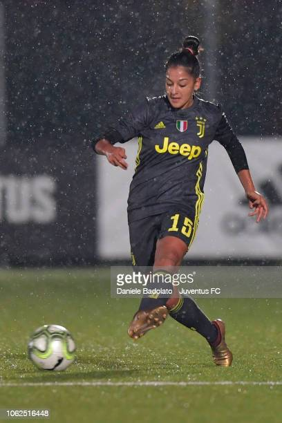Juventus player Vanessa Panzeri during the match between Juventus Women and ASD Orobica on October 31 2018 in Vinovo Italy