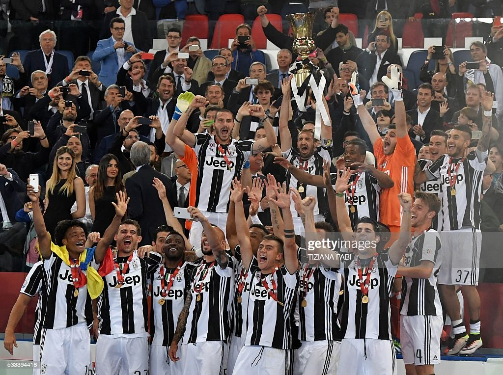 FBL-ITA-CUP-FINAL-MILAN-JUVENTUS : News Photo
