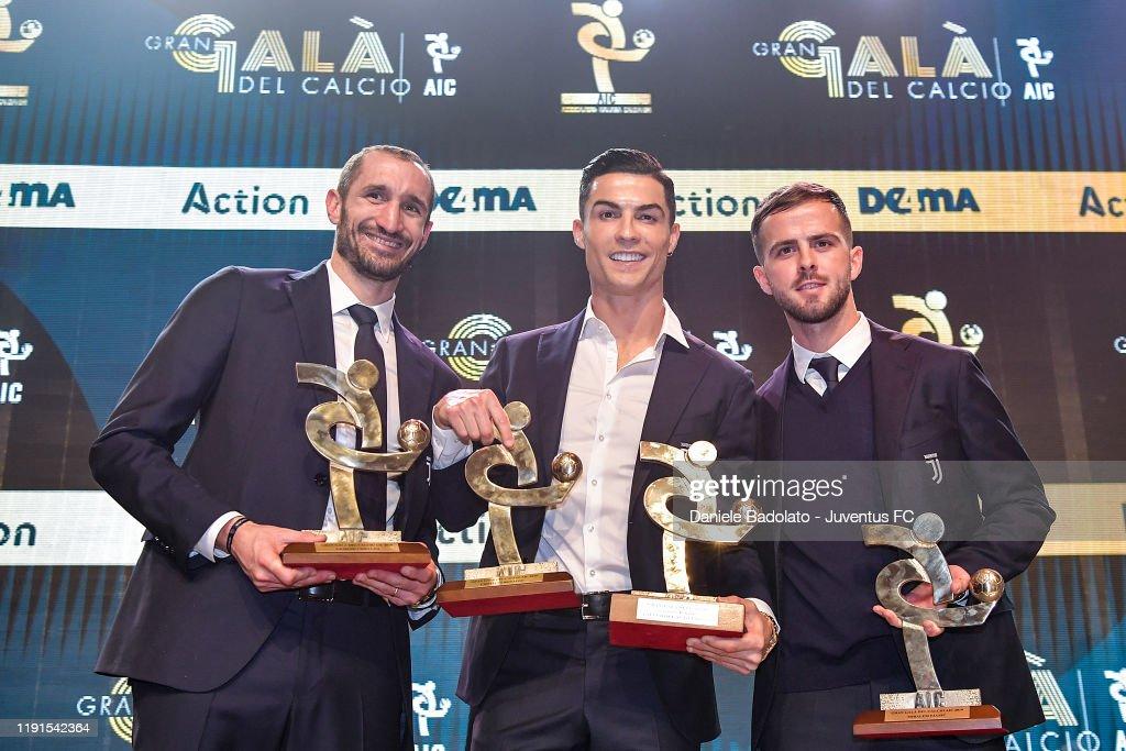'Oscar Del Calcio AIC' Italian Football Awards : Photo d'actualité