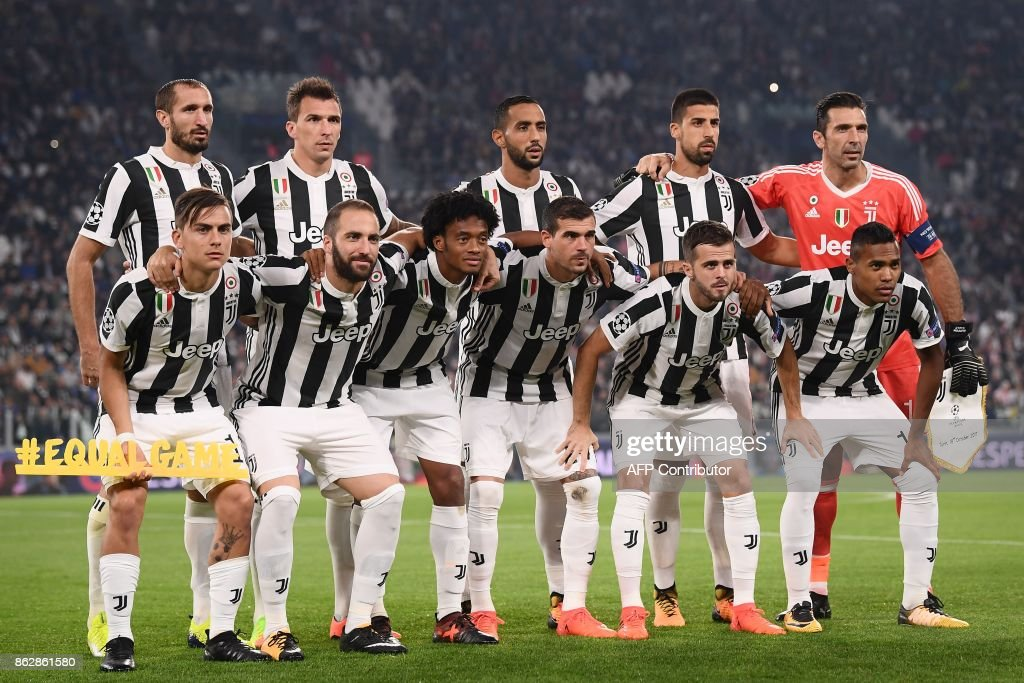 FBL-EUR-C1-JUVENTUS-SPORTING-LISBON : News Photo