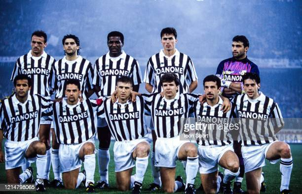 Juventus team Jurgen KOHLER Marco DE MARCHI Julio CESAR DA SILVADino BAGGIO Angelo PERUZZI Roberto GALIA Roberto BAGGIO Massimo CARRERA Andreas...