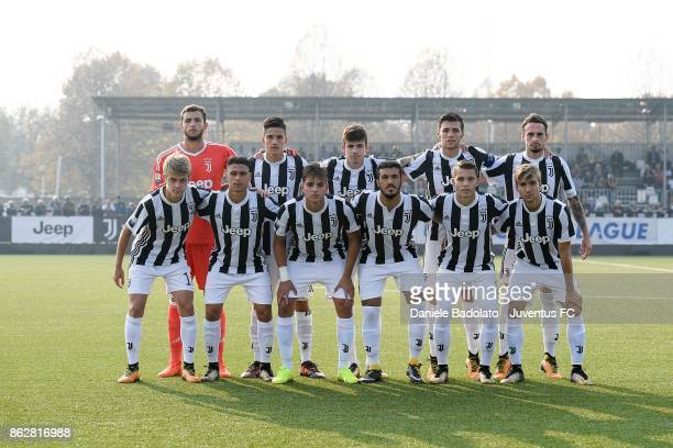 Juventus team photo during the UEFA Youth League match between Juventus and Sporting CP at Juventus Center Vinovo on October 18 2017 in Vinovo Italy