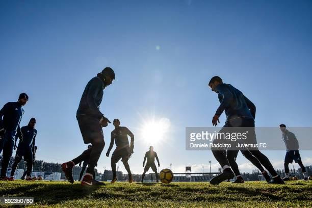 Juventus Training Session at Juventus Center Vinovo on December 14 2017 in Vinovo Italy