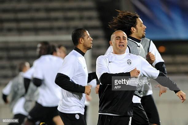 ef66ca4cb Juventus Turin s Fabio Cannavaro participates in a training session on  November 24 2009 at ChabanDelmas stadium