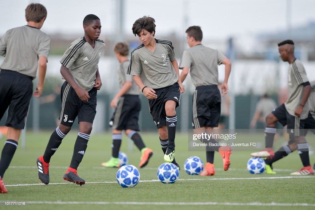 Juventus U14 Training Session
