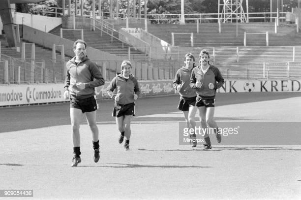 Juventus v Liverpool 1985 European Cup Final Heysel Stadium Brussels Wednesday 29th May 1985 Training Session Bruce Grobbelaar Mark Lawrenson