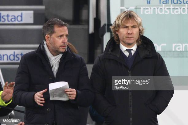 Juventus vice president Pavel Nedved before the Serie A football match n16 JUVENTUS INTER on 9 December 2017 at the Allianz Stadium in Turin Italy