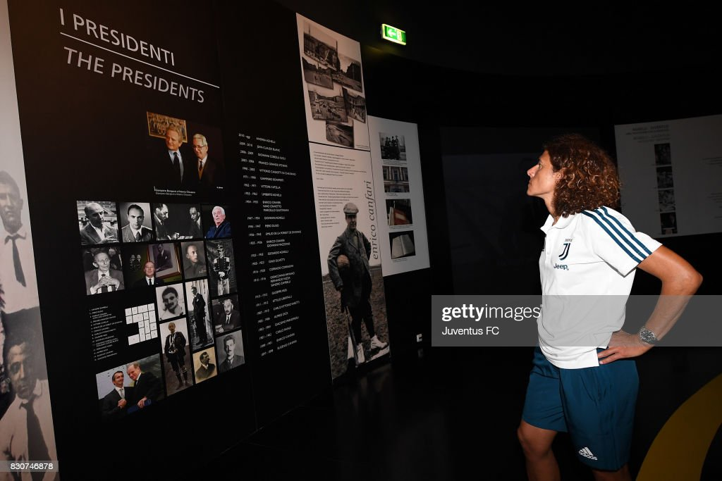 Juventus Women head coach Rita Guarino looks on during a visit to the Club's Museum on August 12, 2017 in Turin, Italy.