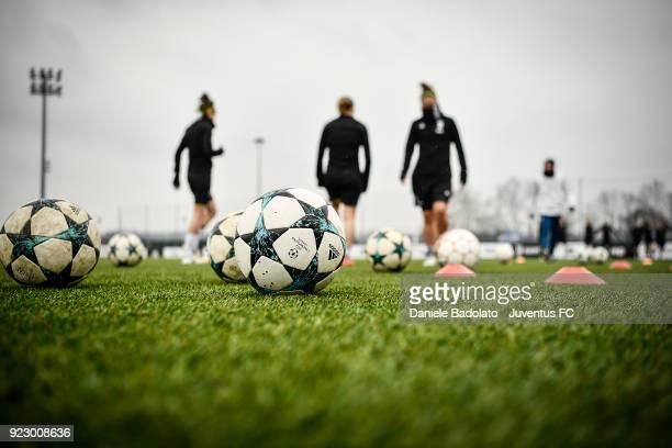 Juventus Women training session on February 22 2018 in Vinovo Italy