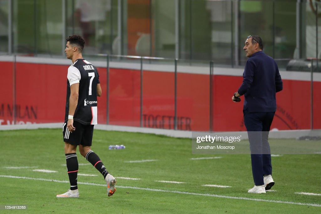 AC Milan v Juventus - Serie A : News Photo