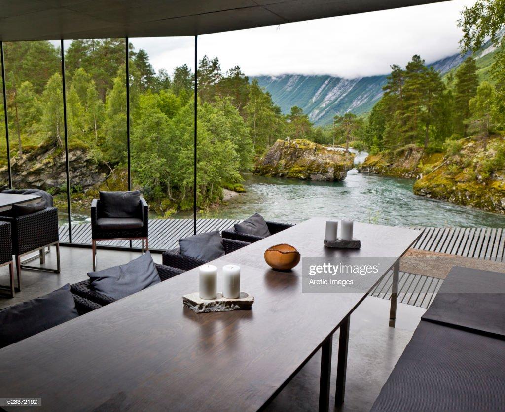 Juvet Landscape Hotel, Valldal, Norway - Juvet Landscape Hotel Valldal Norway Stock Photo Getty Images