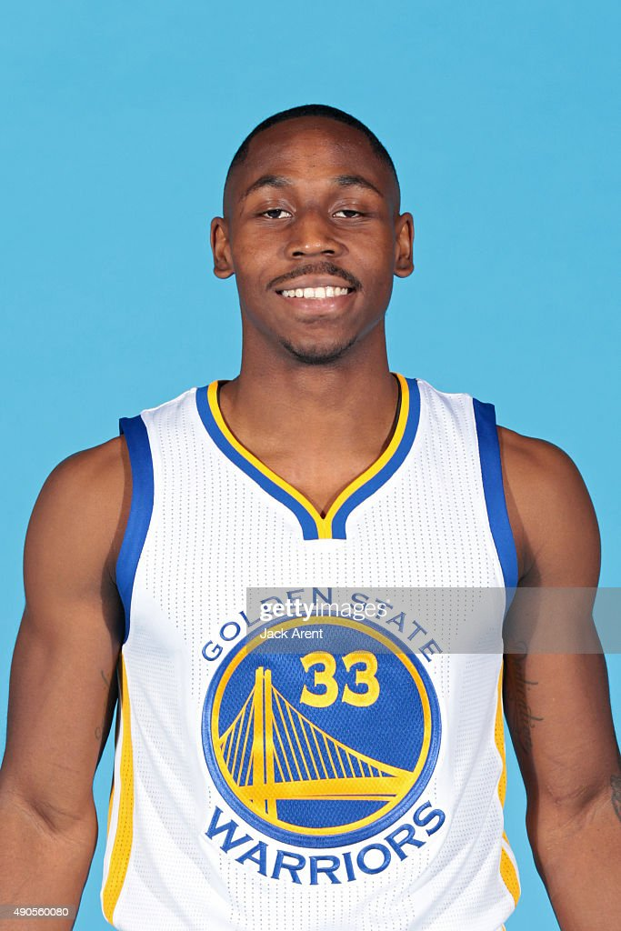 Juwan Staten of the Golden State Warriors poses for a head