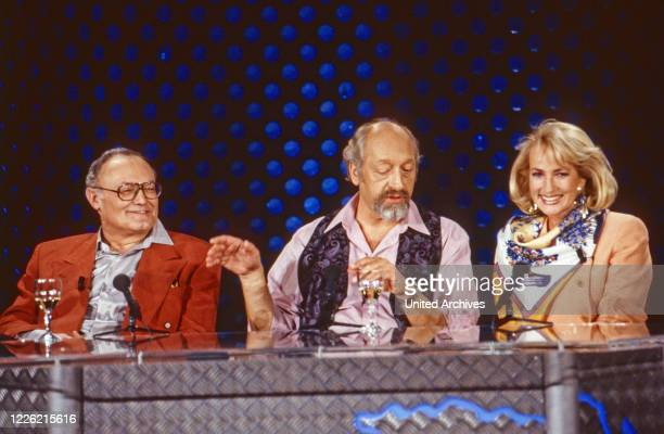 Jux und Dallerei ComedyTalkshow Deutschland 1992 Werner Kreindl Moderator Karl Dall Dagmar Koller