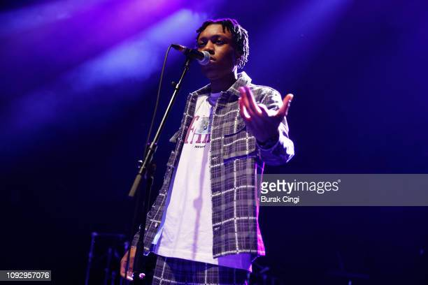 Jvck James performs onstage at O2 Shepherd's Bush Empire on January 11 2019 in London England