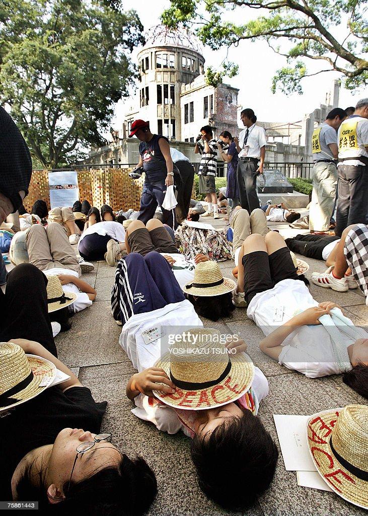 JAPON-HIROSHIMA-ANIVERSARIO : News Photo