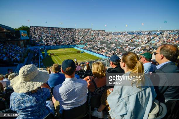 JView of the Centre Court on day five of Fever Tree Championships at Queen's Club London on June 22 2018