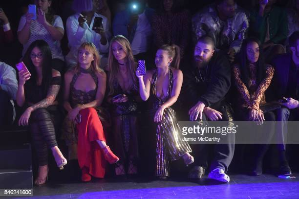 JWoww Paris Hilton Chanel West Coast The Fat Jewish and Rachel Lindsay attend The Blonds fashion show during New York Fashion Week The Shows at...