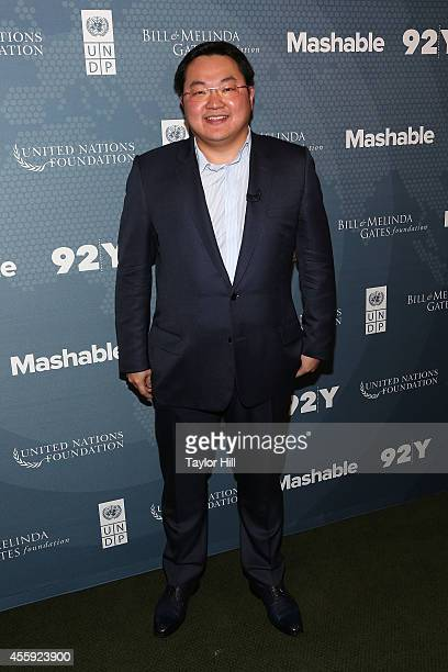 Jynwel Capital Limited CEO Jho Low attends the 2014 Social Good Summit at 92Y on September 21 2014 in New York City