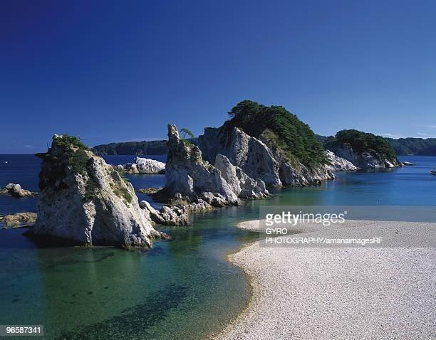 Jyogahama beach, Iwate Prefecture, Honshu, Japan
