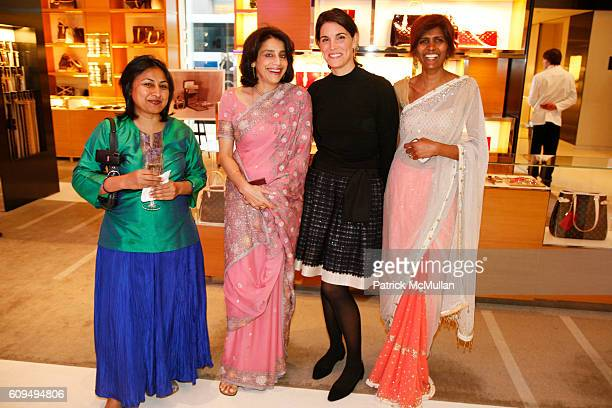 Jyoti Aggarwala Vinati MishraGupta Amy Erbesfeld and Gayatri Stees attend LOUIS VUITTON Celebrates 60 Years of INDIA's Independence at Louis Vuitton...