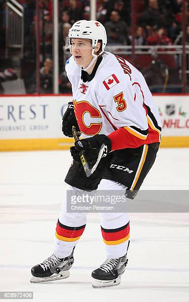 Jyrki Jokipakka of the Calgary Flames in action during the second period of the NHL game against the Arizona Coyotes at Gila River Arena on December...