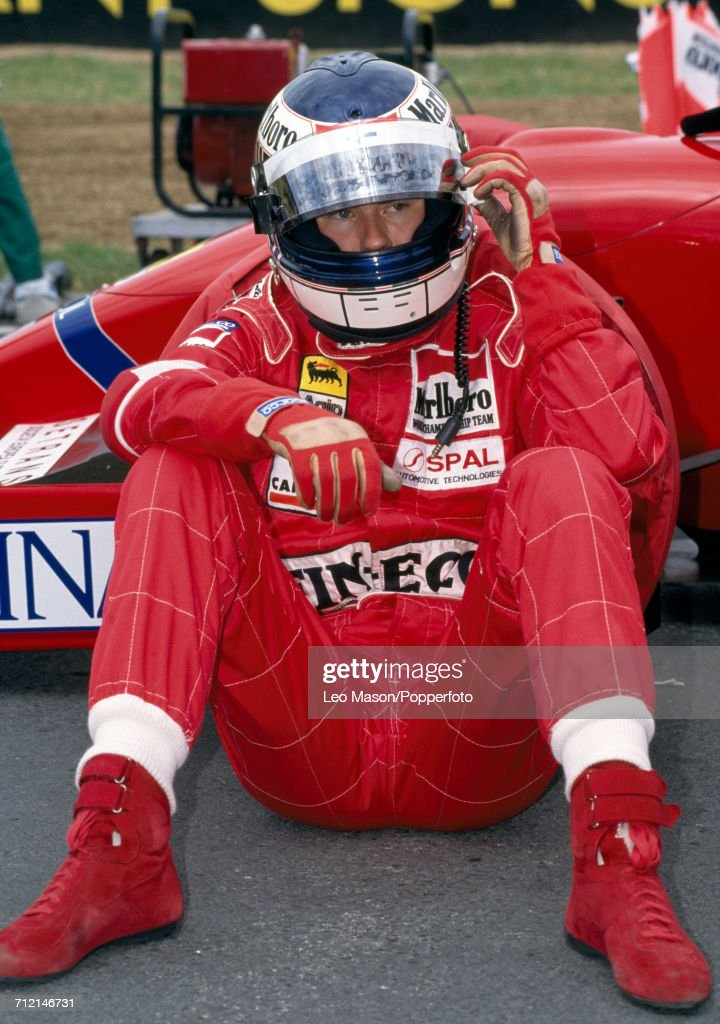 Jyrki Juhani Jarvilehto (JJ Lehto) of Finland prior to the South African Grand Prix during which he drove a Dallara BMS-192 with a Ferrari V12 engine for Team Scuderia Italia SpA on 1st March 1992. Lehto retired from the race during the 44th lap due to a gearbox problem.