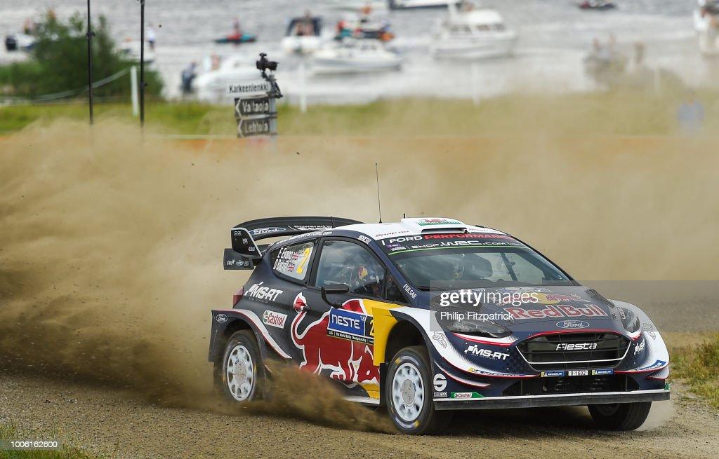 FIA World Rally Championship Finland - Day Two